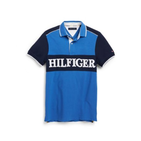Image for CUSTOM FIT PIQUE HILFIGER POLO from Tommy Hilfiger USA