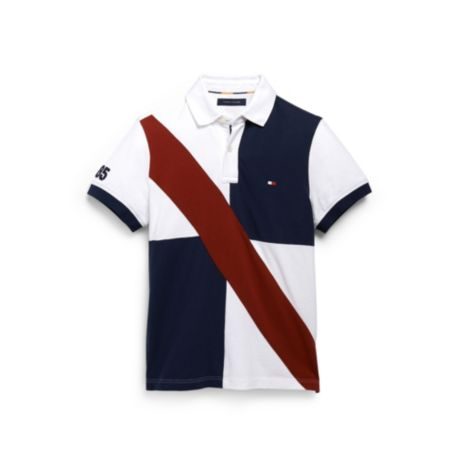 Image for CUSTOM FIT PIECED CHEST DETAIL POLO from Tommy Hilfiger USA
