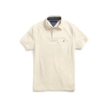 Image for NEW YORK FIT SHOULDER DETAIL SLUB POLO from Tommy Hilfiger USA