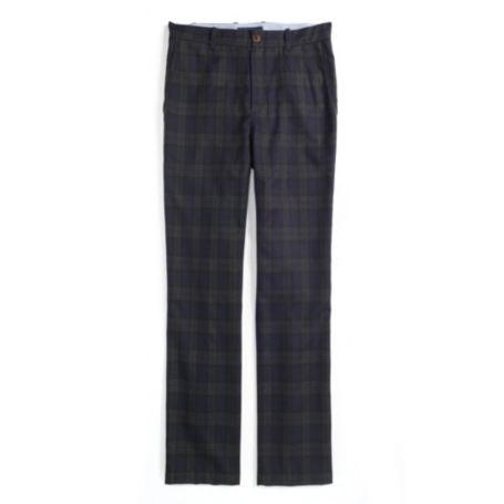 Image for TAILORED FIT PLAID WOOL PANT from Tommy Hilfiger USA