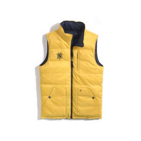 Image for REVERSIBLE PUFFER VEST from Tommy Hilfiger USA