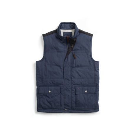 Image for HEATHERED PUFFER VEST from Tommy Hilfiger USA