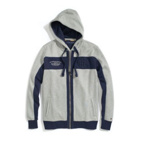 Image for CHEST STRIPE FULL ZIP HOODIE from Tommy Hilfiger USA