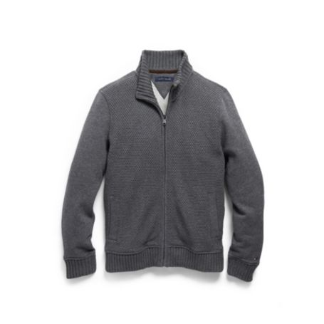Image for FULL ZIP MOCK FLEECE from Tommy Hilfiger USA