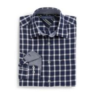 CLASSIC FIT WINDOWPANE SHIRT $64.50