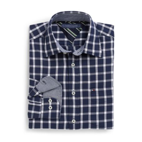 Image for CLASSIC FIT WINDOWPANE SHIRT from Tommy Hilfiger USA