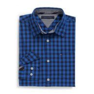 CUSTOM FIT GINGHAM SHIRT $39.99
