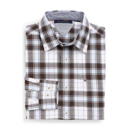 Image for CLASSIC FIT OXFORD PLAID SHIRT from Tommy Hilfiger USA