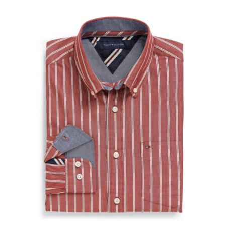 Image for CLASSIC FIT STRIPE SHIRT from Tommy Hilfiger USA