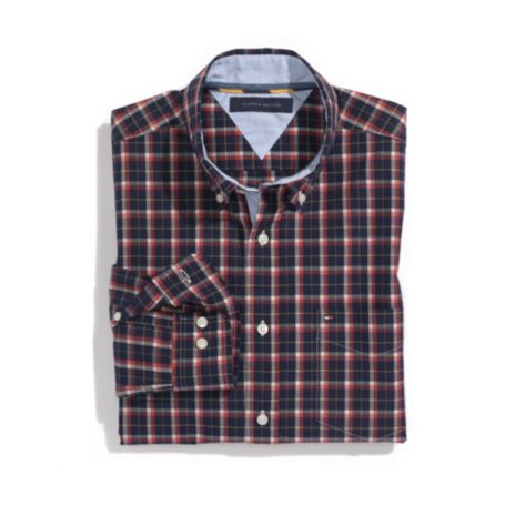 Image for CLASSIC FIT CHECK SHIRT from Tommy Hilfiger USA