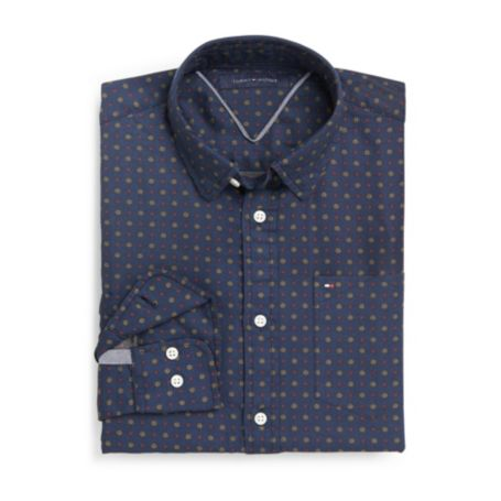 Image for CUSTOM FIT FOULARD SHIRT from Tommy Hilfiger USA