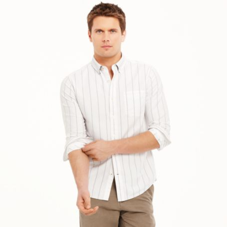 Image for CUSTOM FIT STRIPED SHIRT from Tommy Hilfiger USA