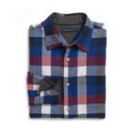 CUSTOM FIT FLANNEL SHIRT $42.99