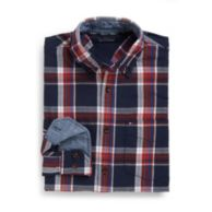 CUSTOM FIT TARTAN SHIRT $39.99