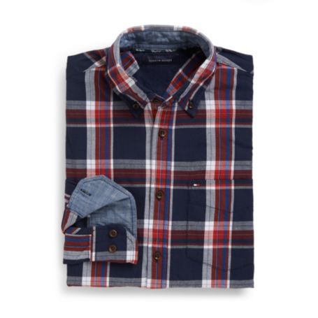 Image for CUSTOM FIT TARTAN SHIRT from Tommy Hilfiger USA