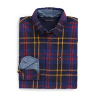 CUSTOM FIT TARTAN SHIRT $49.50