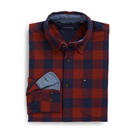 Image for CUSTOM FIT CHECK SHIRT from Tommy Hilfiger USA