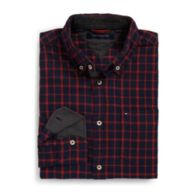 CUSTOM FIT FLANNEL SHIRT $39.99