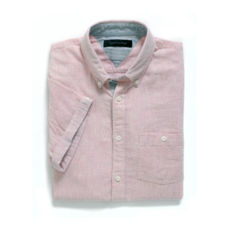 Image for SLIM FIT LINEN STRIPE SHIRT from Tommy Hilfiger USA