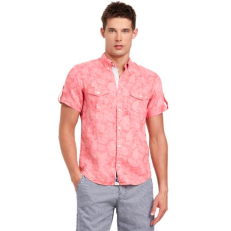Image for SLIM FIT PRINTED SHIRT from Tommy Hilfiger USA