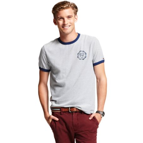 Image for STRIPED TEE SHIRT from Tommy Hilfiger USA