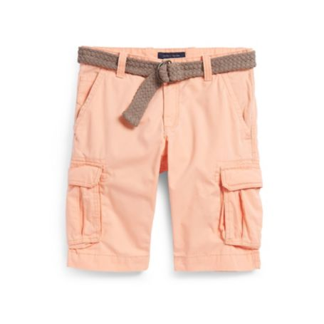Image for TWILL CARGO SHORT WITH BELT from Tommy Hilfiger USA