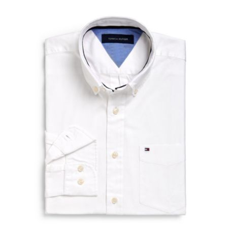 Image for REGULAR FIT SOLID SHIRT from Tommy Hilfiger USA