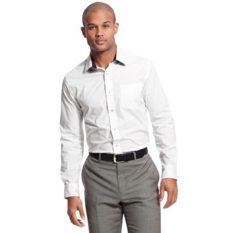Image for CUSTOM FIT STRETCH SHIRT from Tommy Hilfiger USA