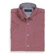 SHORT SLEEVE PLAID SHIRT $37.99