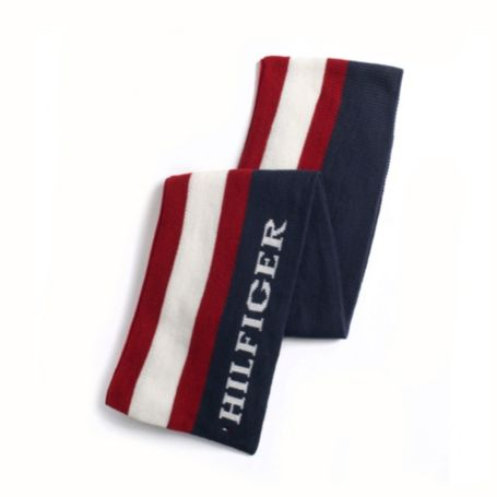 Image for STRIPE HILFIGER SCARF from Tommy Hilfiger USA