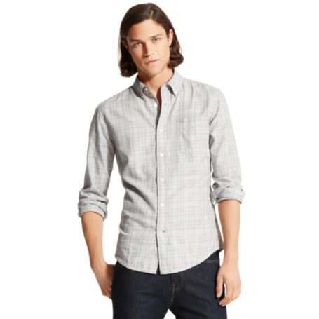 Image for CUSTOM FIT TWILL CHECK SHIRT from Tommy Hilfiger USA