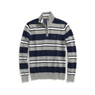MULTI STRIPE HALF ZIP SWEATER $44.99