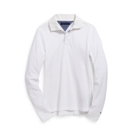 Image for LONG SLEEVE POLO from Tommy Hilfiger USA