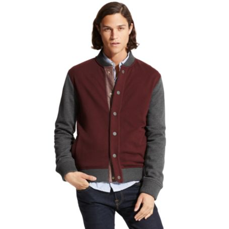 Image for BUTTON FRONT FLEECE JACKET from Tommy Hilfiger USA