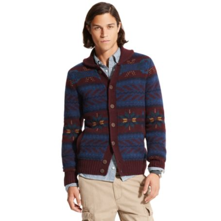 Image for FAIRISLE BUTTON FRONT CARDIGAN from Tommy Hilfiger USA