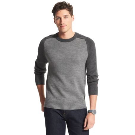 Image for COLORBLOCK CREW NECK SWEATER from Tommy Hilfiger USA