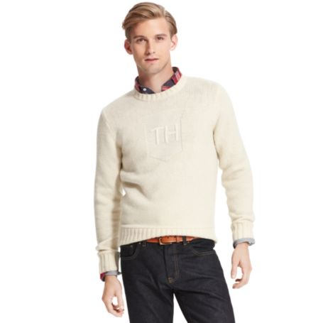 Image for TH SIGNATURE C-NECK SWEATER from Tommy Hilfiger USA