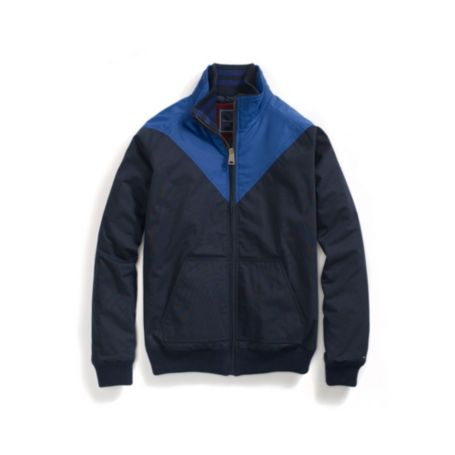 Image for CHEVRON ZIP UP JACKET from Tommy Hilfiger USA