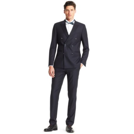 Image for SLIM FIT 2-PIECE DOUBLE BREASTED SUIT from Tommy Hilfiger USA