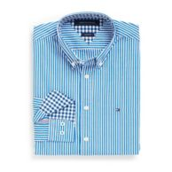 CUSTOM FIT STRIPE SHIRT $54.99