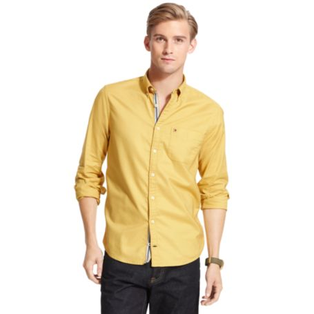 Image for NEW YORK FIT OXFORD SHIRT from Tommy Hilfiger USA