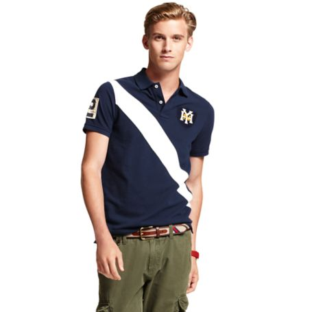 Image for PIECED SASH POLO from Tommy Hilfiger USA