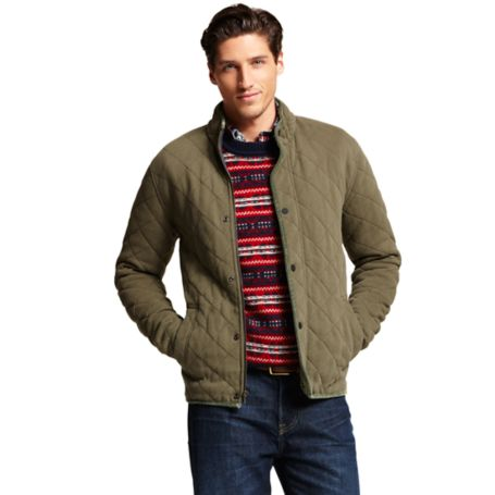Image for QUILTED FLEECE JACKET from Tommy Hilfiger USA
