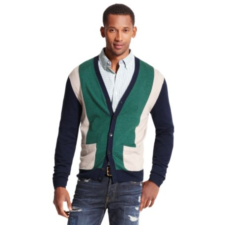 Image for COLORBLOCKED CARDIGAN from Tommy Hilfiger USA