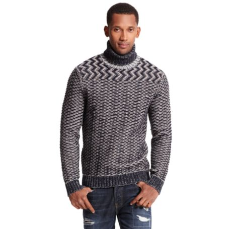 Image for PATTERNED TURTLENECK from Tommy Hilfiger USA