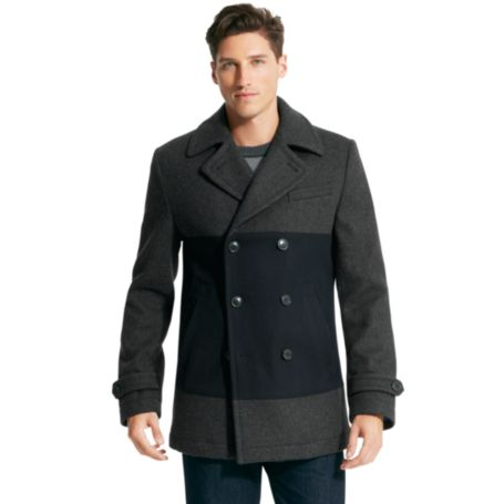 Image for COLORBLOCK PEACOAT from Tommy Hilfiger USA