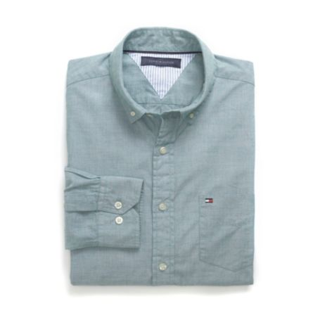 Image for END ON END WOVEN SHIRT from Tommy Hilfiger USA