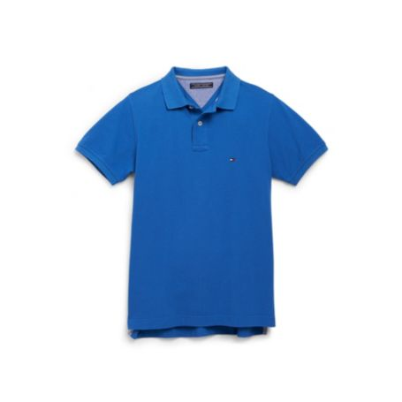 Image for SLIM FIT POLO WITH UNDER COLLAR STRIPE from Tommy Hilfiger USA