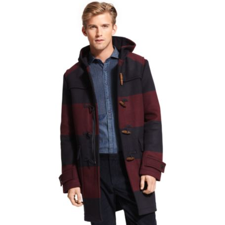 Image for STRIPED TOGGLE COAT from Tommy Hilfiger USA