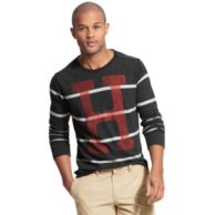 H STRIPE LONG SLEEVE TEE $39.99